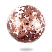 Minnidip - Rose Gold Confetti Beach Ball