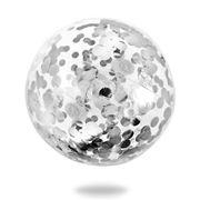 Minnidip - Confetti Beach Ball Silver