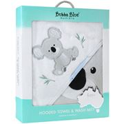 Bubba Blue - Koala Hooded Towel & Bath Mitt