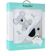 Bubba Blue - Koala Hooded Towel & Bath Mitt