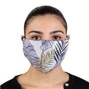 Element Mask - Adult Jersey Mask Gold Palms