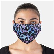 Element Mask - Adult Jersey Mask Tie Dye Leopard
