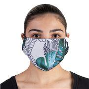 Element Mask - Adult Jersey Mask Green Palms