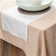 Rans - Hemstitch Table Runner White 33x135cm