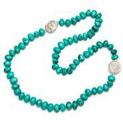 Bowerhaus - Drew Turquoise Necklace with Coins