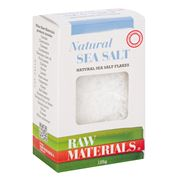 Raw Materials - Natural Sea Salt Flakes 125g