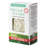 Raw Materials - Wild Garlic Natural Sea Salt Flakes 125g