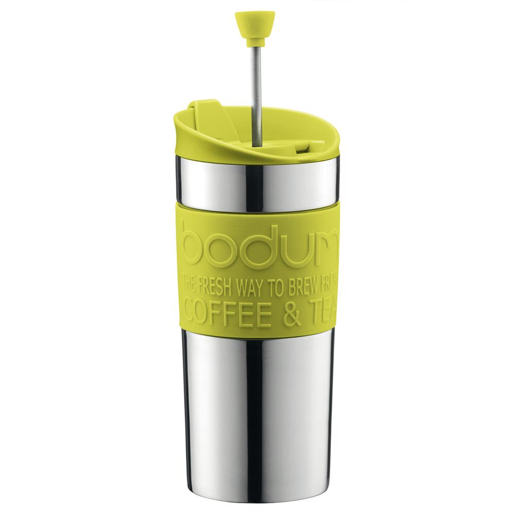 Bodum - Travel Press Coffee Maker Vacuum Seal Lime Green