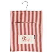 Ogilvies Designs - Peg Bag Red