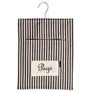 Ogilvies Designs - Peg Bag Black