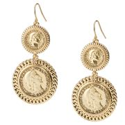 Carolee - 40th Anniversary Treasure Chest Coin Earrings