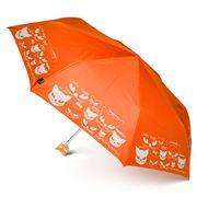 H.Due.O - Eyes Of Cats Mini Maxi Umbrella Orange