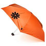 H.Due.O - Hippy Flowers Micro Umbrella Orange