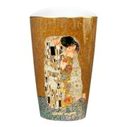 Goebel - Gustav Klimt's 'The Kiss' Vase 19.5cm