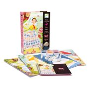 Djeco - Flower Maidens Stamp Set