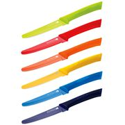 Scanpan - Spectrum Coloured Steak Knife Set 6pce
