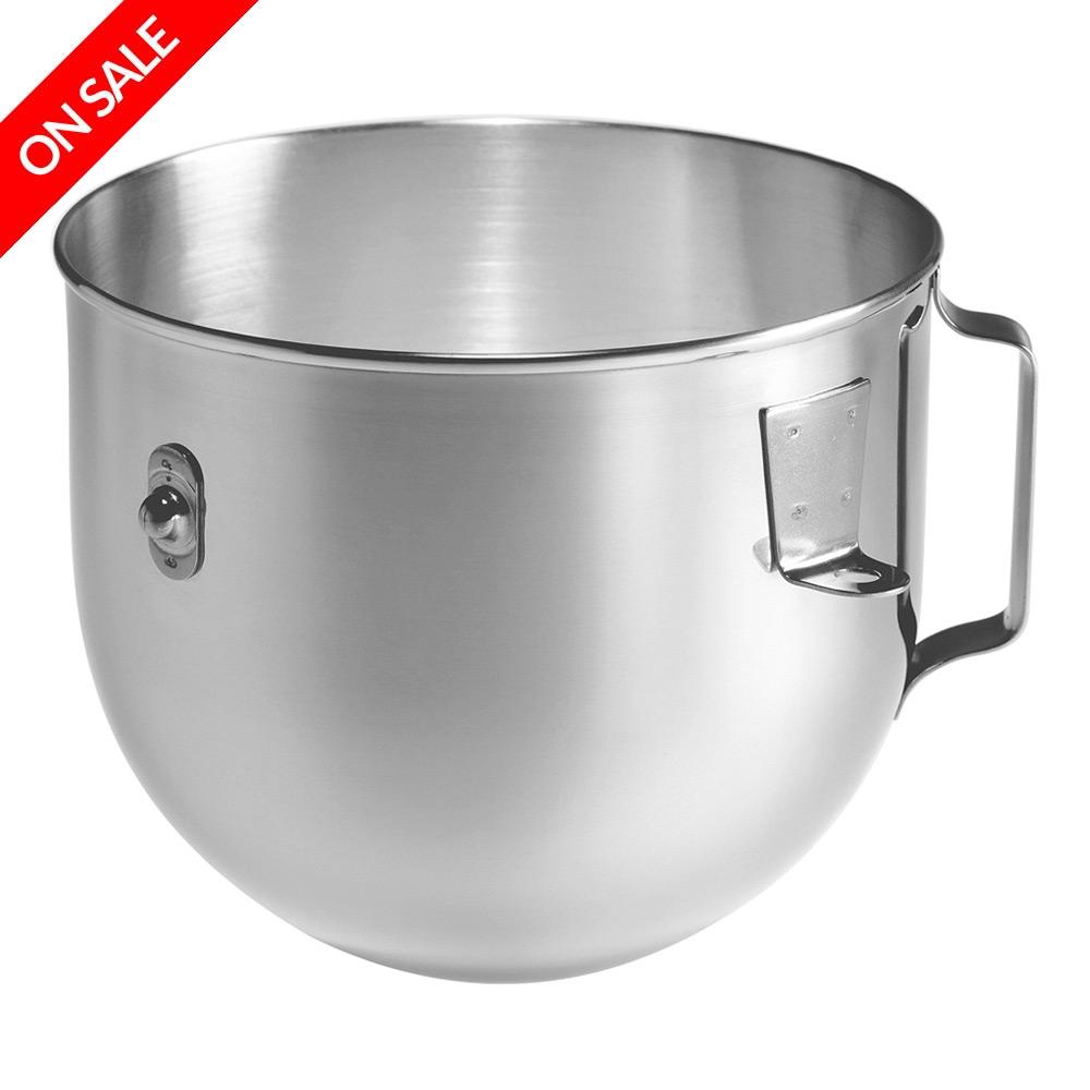 Kitchenaid accessories s steel mixer bowl 4 8l for kpm5 peter 39 s of kensington - Kitchen aid artisan accessories ...