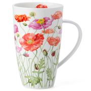 Dunoon - Henley Poppies Pink & Red Mug
