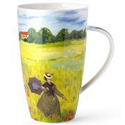 Dunoon - Impressionists Henley Mug Poppy Field