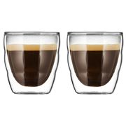 Bodum - Pilatus Double-Wall Glass Set Extra Small 2pce