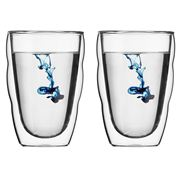 Bodum - Pilatus Double Wall Glass Set Medium 2pce