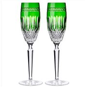 Waterford - Clarendon Emerald Champagne Flute Set