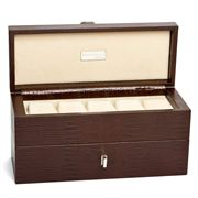 Renzo - Thesius Leather Double Watch Case Cheops Brown