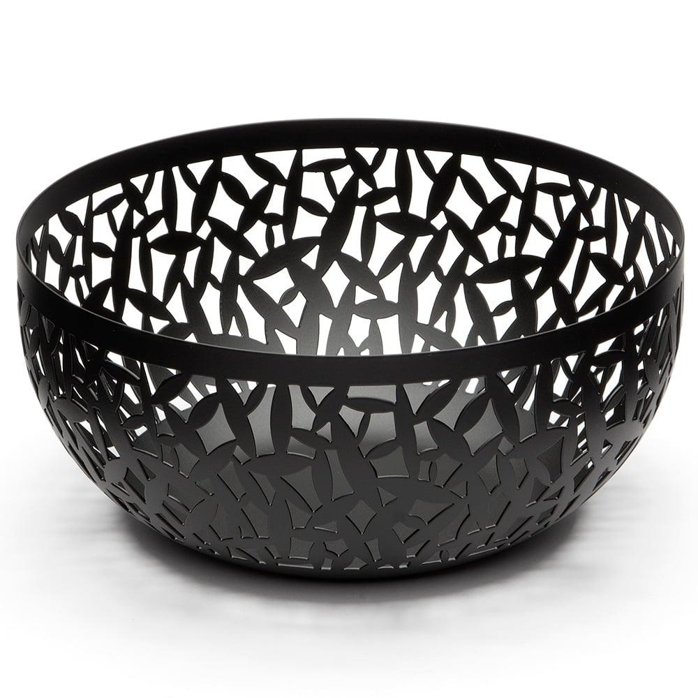 Alessi cactus black small fruit bowl peter 39 s of kensington - Alessi fruit bowl ...