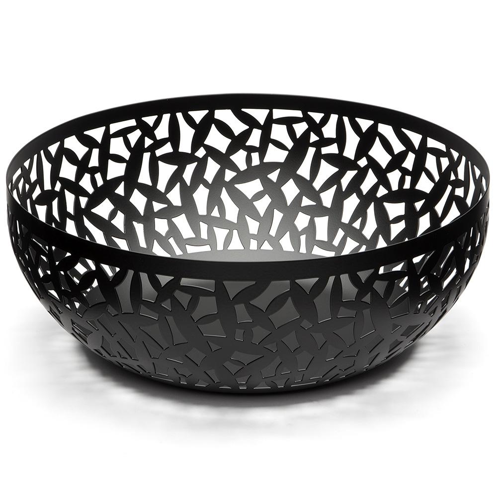 Alessi cactus black large fruit bowl peter 39 s of kensington - Alessi fruit bowl ...