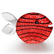 Borowski - Snippy Fish Large Paperweight Red