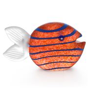Borowski - Snippy Fish Paperweight Amber