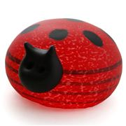 Borowski - Red & Black Beetle Paperweight