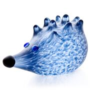 Borowski - Nigel Hedgehog Blue Paperweight