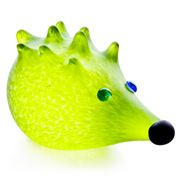 Borowski - Nigel Hedgehog Lime Green Paperweight