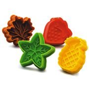 Kilo - Fruit & Leaves Biscuit Cutter Set 4pce