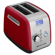 KitchenAid - KMT223 Empire Red Two Slice Toaster
