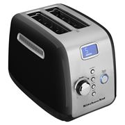 KitchenAid - KMT223 Onyx Black Two Slice Toaster