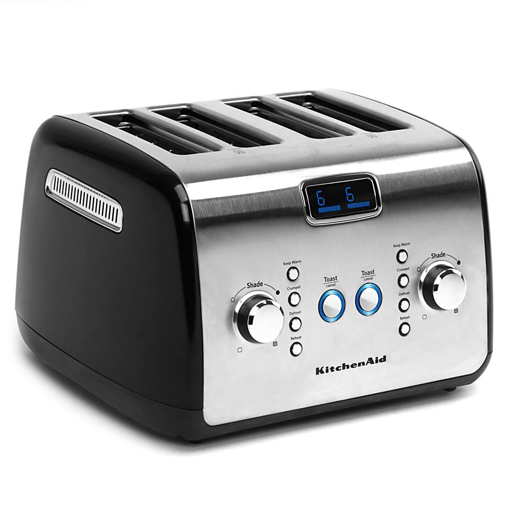 Kitchenaid Kmt423 4 Slice Toaster Onyx Black Peter S