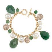 Carolee - Rock Stars Aventurine Cluster Bracelet