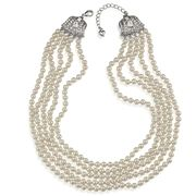Carolee - Classic Love Story Multi-Row Pearl Necklace