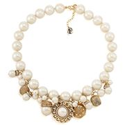 Carolee - 40th Anniversary Viva La Pearl Charm Necklace