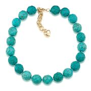 Carolee - Rock Stars Turquoise Choker Necklace