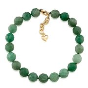 Carolee - Rock Stars Aventurine Choker Necklace