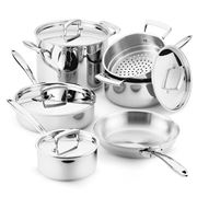 Cuisipro - Stainless Steel Cookware Set 6pce