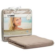 Bambi - Cottina Single Cotton Blanket Doe Skin