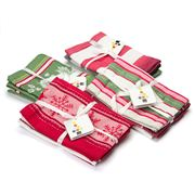 Ladelle - Assorted Christmas Tea Towel Sets 3pce