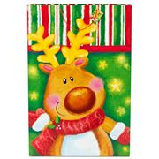 Christmas - Jumbo Gift Bag Rudolph