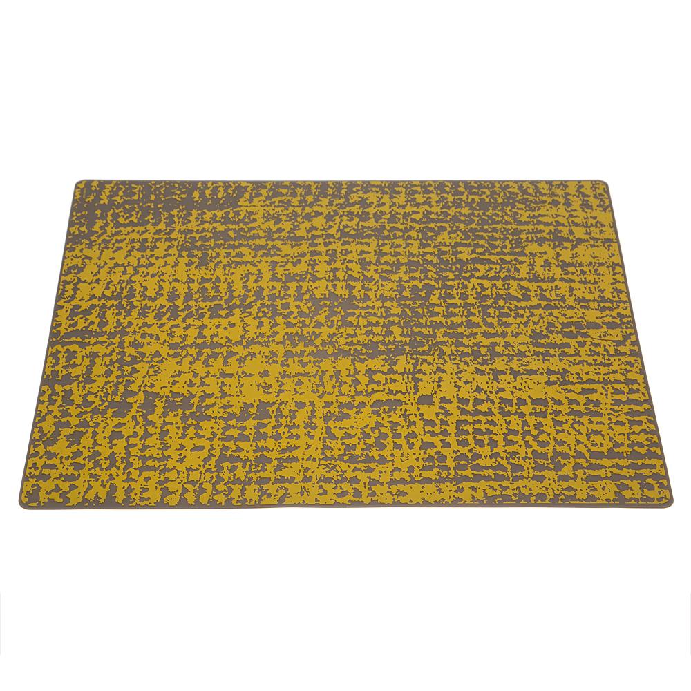 new modern twist grain silicone placemat mustard  ebay - new modern twist grain silicone placemat mustard