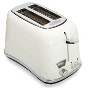 DeLonghi - Brillante White 2 SliceToaster