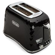 DeLonghi - Brillante Black Toaster 2 slice